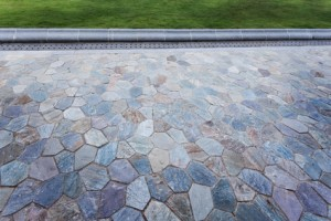 slate tile pavers