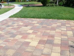 stone driveway pavers