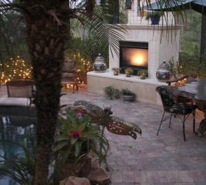 outdoor fireplace fort lauderdale