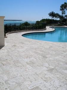 poolside pavers